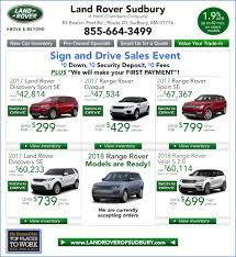 new land rover specials land rover sales near waltham ma