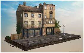 3d max home design tutorial 3d tutorial victorian street made in 3dsmax vray 3d 3ds max