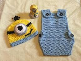 Crochet Baby Halloween Costumes 320 Crochet Minion Images Crochet Minions