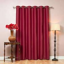 Wine Colored Curtains Burgundy Curtains Drapes Window Treatments The Home Depot