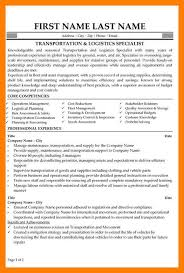 Inventory Specialist Resume 9 Supply Chain Resumes Mla Cover Page