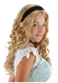 Halloween Costumes Wigs Alice Wonderland Wig