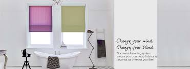 fabric changer information from bloc blinds
