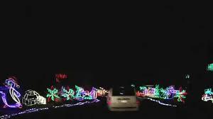 louisville mega cavern christmas lights lights under louisville mega cavern youtube