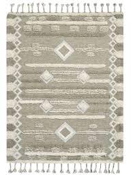 west elm mosaic shimmer shag kilim rug 8 u0027x10 u0027 chairish