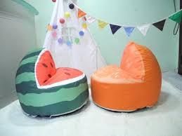 cute watermelon children bean bag kids bean bag with filling