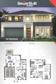 two storey house design the waterbrook double storey house design 265 sq m 12 09m x