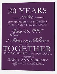 20 year anniversary gift 20th wedding anniversary gift hd images new 20th wedding