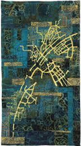 Map Fabric Eszter Bornemisza Fabric Map Art Quilt Hungary The Artist Uses