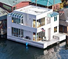 love this cool boat house check out more tiny homes in hgtv