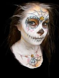 Dead Halloween Costumes Mexican Dead Face Paint Design Face Painting