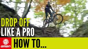 Bike To Work Week Presented by How To Ride Drop Offs Like A Pro Mountain Bike Skills Youtube