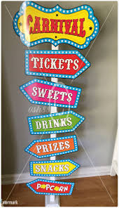 top 25 best carnival signs ideas on pinterest circus carnival