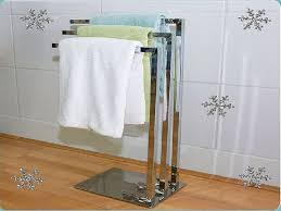 practical free standing towel rack u2014 modern home interiors