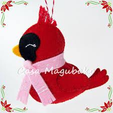 felt xmas ornament patterns hand made felt birds for christmas