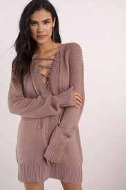 never forget you wine lace up sweater dress 78 tobi us