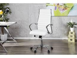 fauteuil de bureau blanc de bureau massari blanc