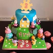 peppa pig cake girl s peppa pig cake the great bake