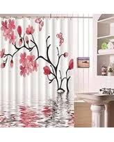 Pink Flower Shower Curtain Alert Pink Shower Curtains Deals