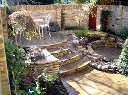 Landscaping Ideas Small Backyard by Love This Multi U003dlevel Backyard Landscaping Idea Garden