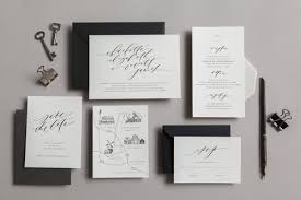 custom wedding invitation semi custom wedding invites written word calligraphy and design