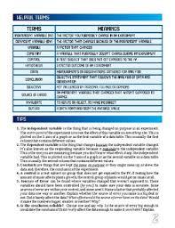 dependent variable etc scientific inquiry worksheet 1