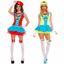 Mario Luigi Halloween Costumes Couples Buy Wholesale Halloween Couple Costumes China