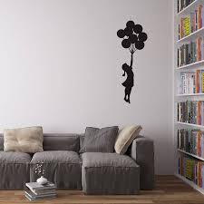 banksy wall art banksy balloon girl vinyl wall decal