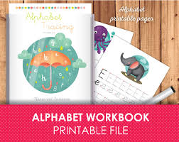 alphabet tracing letters printabe pages alphabet activities