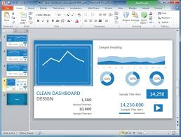 dashboard ppt template dashboard tool kit a powerpoint template