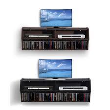 Dvd Storage by 39 Floating Dvd Rack Media Storage Cabinet Dvd Cd Floating Wall