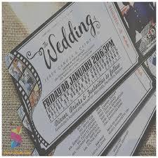 Movie Ticket Wedding Invitations Wedding Invitation Awesome Movie Themed Wedding Invites Movie