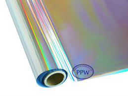aluminized gift wrapping paper metallized paper hologram gift