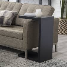 C Shaped End Table Finley Home Hudson C End Table Hayneedle