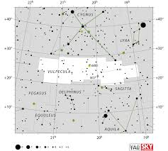 vulpecula constellation facts stars location deep sky objects