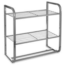 Brushed Nickel Bathroom Shelves Buy Brushed Nickel Shelf From Bed Bath Beyond