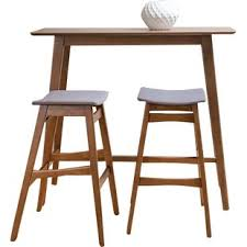 bar stool table and chairs bar tables sets modern contemporary designs allmodern