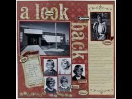 Scrapbook Inserts Creative Memories Scrapbook Pages Ideas Youtube