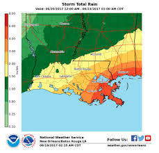 New Orleans Safety Map tropical storm warning issued for louisiana coast by the national