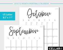 printable weekly calendar for 2018 monthly calendar printable 2018 wall calendar 2018 monthly