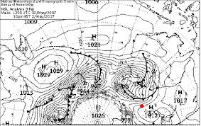 location bureau 12 figure 1 mslp chart for 2 may 2007 at 12 z the approximate
