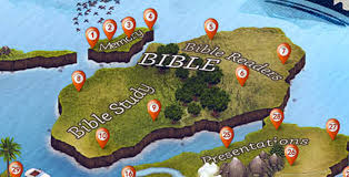 Biblical Map Of The Middle East by Christian Apps 41 Apps You Should Know Infographic