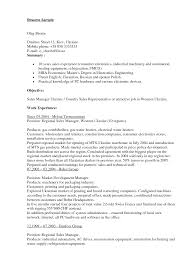 managers will notice useful online sales executive sample resume