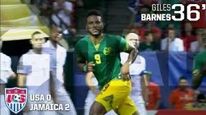 Giles Barnes Mnt Vs Jamaica Giles Barnes Goal July 22 2015 Youtube