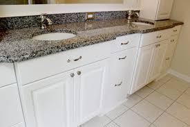 bathroom graceful white bathroom cabinets with granite