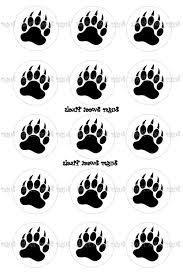 grizzly bear paw tattoo bear paws deals on 1001 blocks tattoo