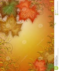 autumn fall leaves border stock illustration image of graphic