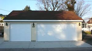 how big is a one car garage standard size 3 car garage best 2017oversized one and half