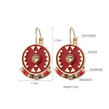 types of earrings for women indian jewelry boho earrings daily zone