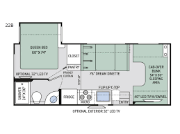 class a rv floor plans four winds motor home class c rv sales 22 floorplans